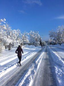 'Reflecting' on Winter Running