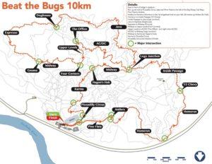 Beat_tBugs 2019 10km course map