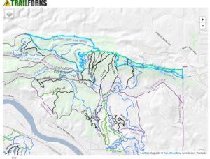 HnB 10km route map